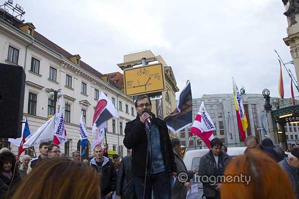 Národní demokracie uspořádala 17. listopadu již čtvrtý Tábor lidu na Náměstí republiky