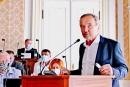 Poslanec SPD Jiří Kobza na konferenci o vymahatelnosti práva v ČR