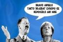Hitlerův šovinismus byl natolik zrůdný, že ho během šesti let svět porazil, ale multikulturalismus Merkelové zníčí evropskou křesťanskou kulturu, pokud se národy rychle nevzpamatují  a nezabrání desítkám milionů Afričanů usadit se v EU