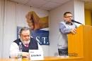 Předseda Akce D.O.S.T. Petr Bahník a místopředseda Michal Semín na HOVORECH NA PRAVICI