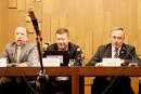 Václav Klaus Jr. přednáší na konferenci o Mediokracii pořádané místopředsedou Zahraničního výboru  PSP ČR Jiřím Kobzou